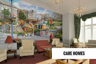 Care Homes Mural Wallpaper