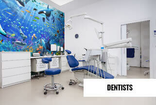 Dentists Mural Wallpaper