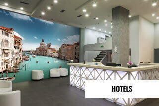 Hotels Holiday Parks Mural Wallpaper