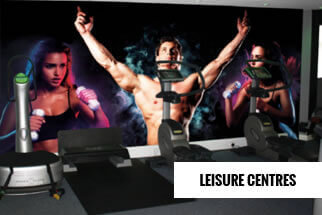 Gym Leisure Centres Mural Wallpaper