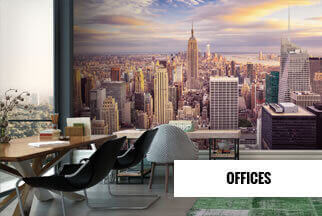 Offices Mural Wallpaper