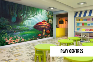 Childrens Play Centres Mural Wallpaper