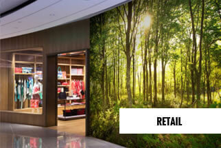 Retail Mural Wallpaper