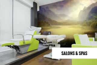 Salons Spas Mural Wallpaper