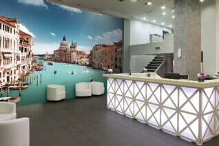 Stunning murals for hotels