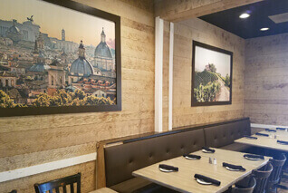 Murals For Eateries And Barrooms Brighten Your Restaurant With A Wall Mural
