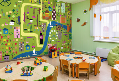 Exciting Play Centre Murals