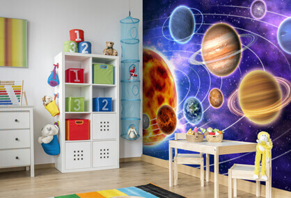 Brighten your play centre with a mural