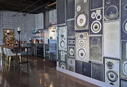 Murals for eateries and bar rooms