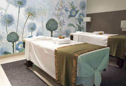 Brighten your spa with a mural