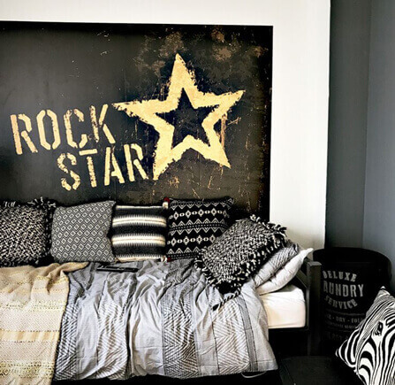 Rock Star wallpaper mural