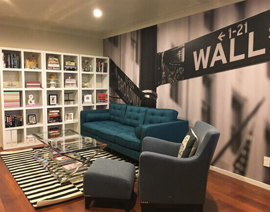 Wall Street wallpaper mural