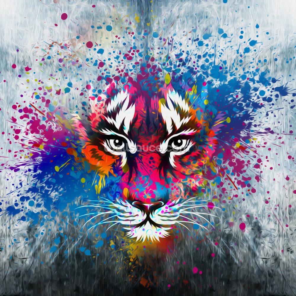 Tiger Art Wallpaper Wallsauce Ca
