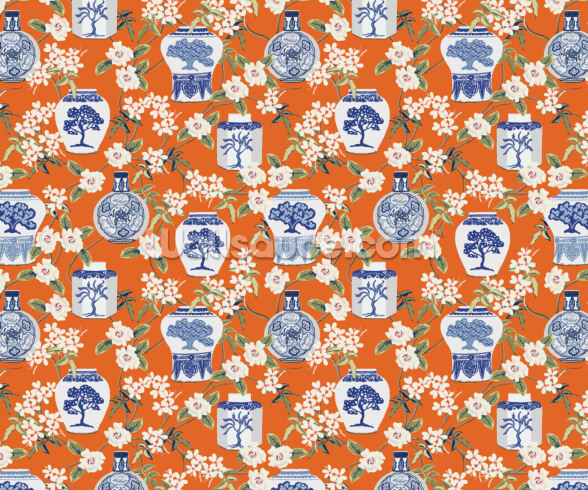 China Garden Wallpaper | Wallsauce UK