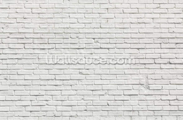White Brick Effect Wall Wallpaper Wallsauce Au