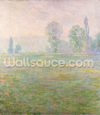 Meadows in Giverny, 1888 Wallpaper Wall Murals