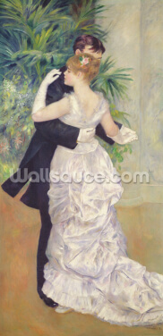 Dance in the City, 1883 (oil on canvas) Wallpaper Wall Murals