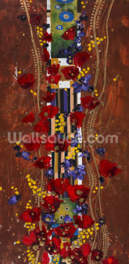 Colourful Abstract Painting 2 Wallpaper Wall Murals