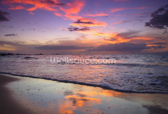 Mokapu Sunset Wallpaper Wall Murals