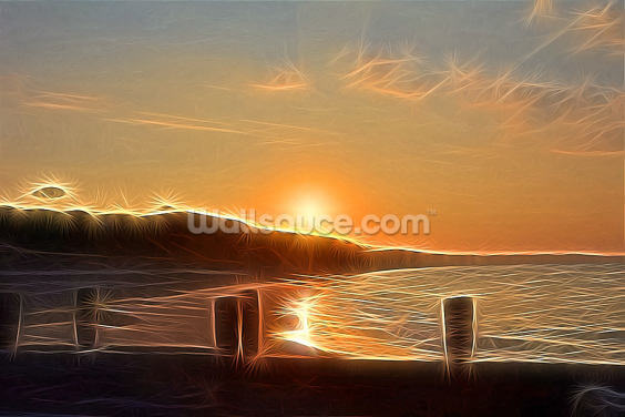 Light New Day Wallpaper Wall Murals
