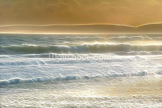 Light Seaspray Wallpaper Wall Murals