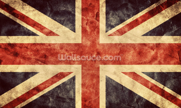Vintage Union Jack Wallpaper Wall Murals