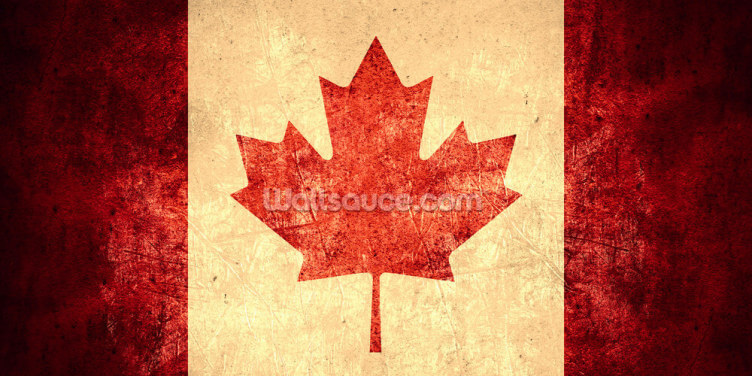 Canadian Flag Wallpaper Wall Murals