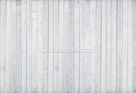 White Wood Wall Wallpaper Wall Murals
