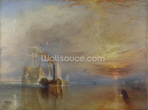 The Fighting Temeraire, 1839 (oil on canvas) Wallpaper Wall Murals