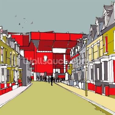 Anfield Wallpaper Wall Murals