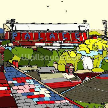 Selhurst Park Wallpaper Wall Murals