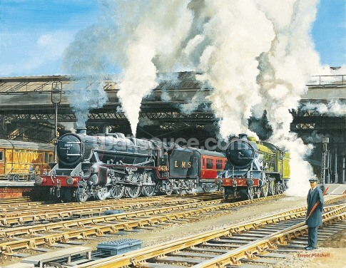 Full Steam Ahead Wallpaper Wall Murals