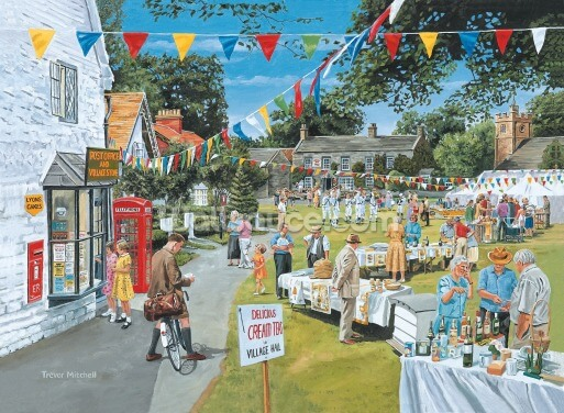 Summer Fete Wallpaper Wall Murals