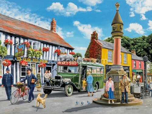 The Market Place Wallpaper Wall Murals