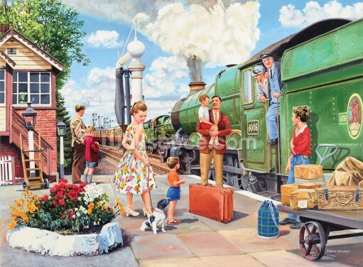 The Train Driver Wallpaper Wall Murals