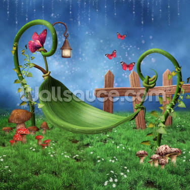 Magic Garden Wallpaper Wall Murals