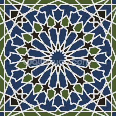 Arabesque Seamless Pattern Wallpaper Wall Murals