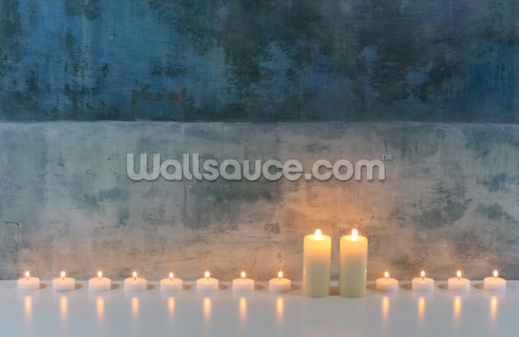 Candle Calm Wallpaper Wall Murals