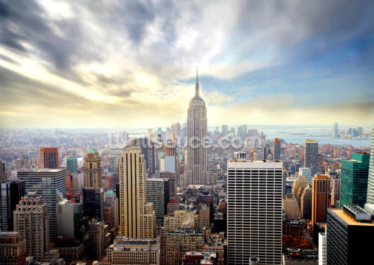 Manhattan Skyline Wallpaper Wall Murals