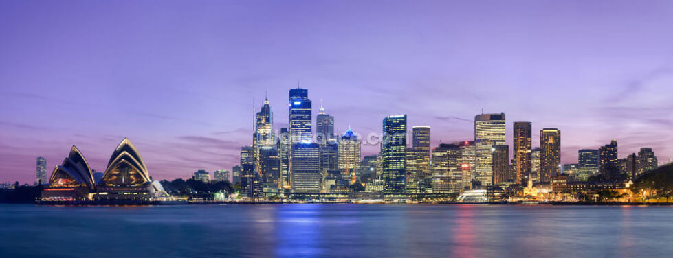 Sydney Skyline Wallpaper Wall Murals