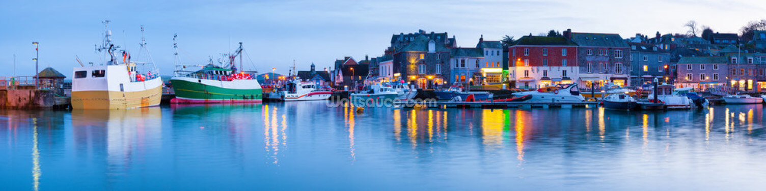 Padstow Harbour, Cornwall Wallpaper Wall Murals