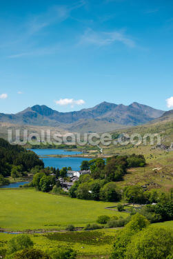 Mount Snowdon Wallpaper Wall Murals