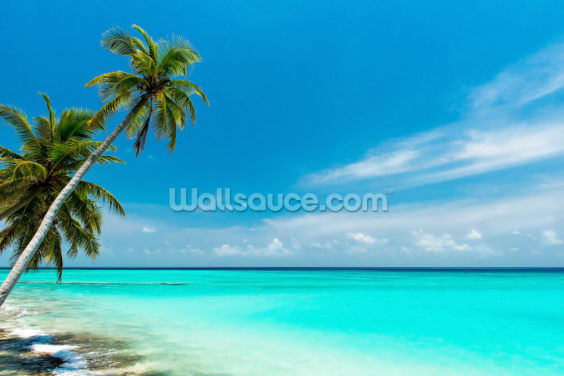 Beach Paradise Wallpaper Wall Murals