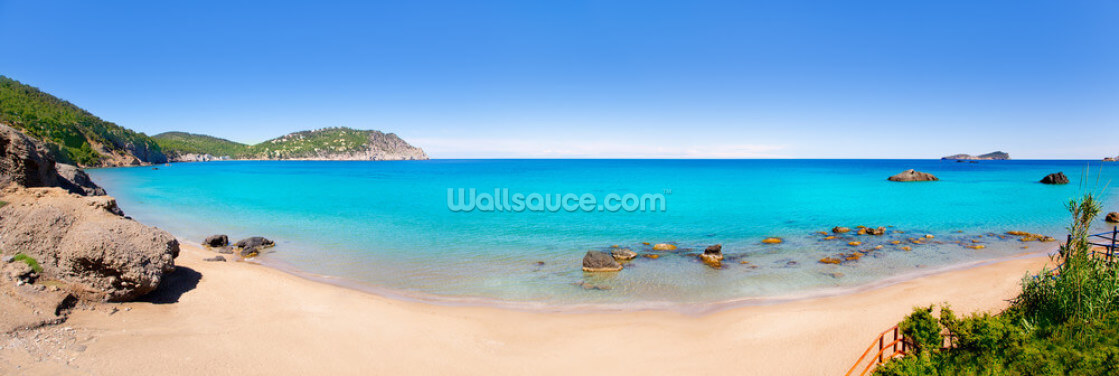 Aiguas Blanques, Ibiza Wallpaper Wall Murals