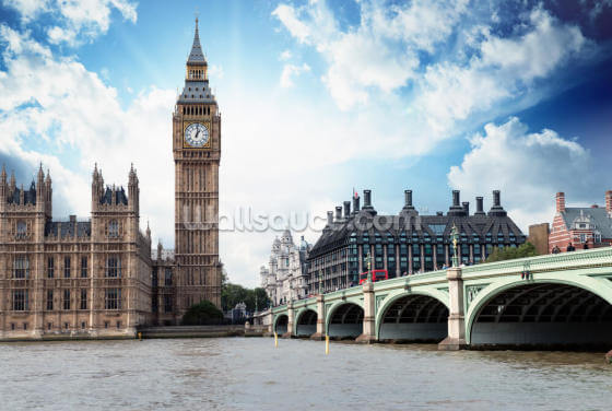 Westminster, London Wallpaper Wall Murals