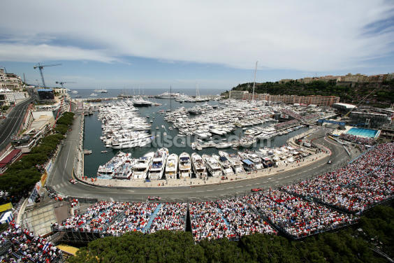 Monaco Grand Prix Marina Wallpaper Wall Murals