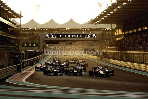 Abu Dhabi Grand Prix 2013 Wallpaper Wall Murals