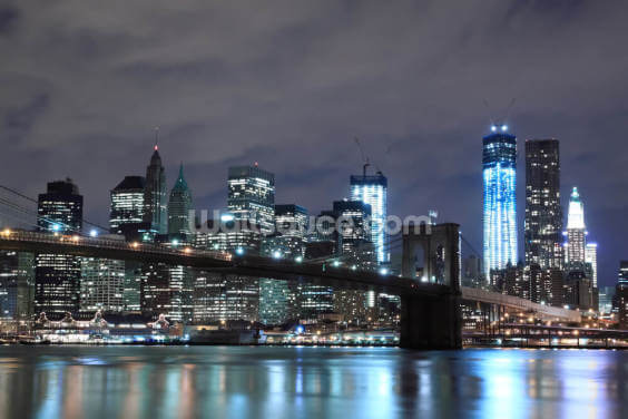 Brooklyn Bridge New York Wallpaper Wall Murals
