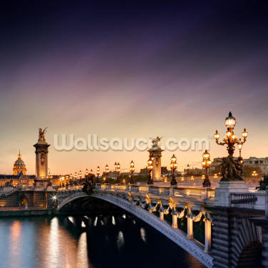 Pont Alexandre III, Paris Wallpaper Wall Murals