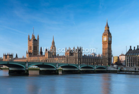 London Houses of Parliament Wallpaper Wall Murals